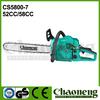 Chaoneng chain saw cs5800,chain saw brush cutter, kraftdele chain saw 5200