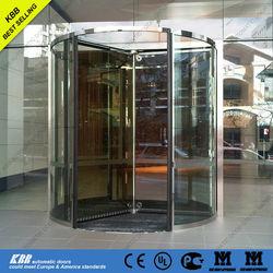 London Exeter University, all glass revolving door, ISO9001 CE UL certificate