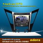 8 inch android 4.2 touch screen car dvd player for Hyundai 2011/SONATA YF/i40/i45/i50(2011-2012) car radio gps for hyundai