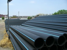 400mm*23.7mm HDPE pipe for water supply SDR17 PN10