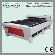 High speed co2 laser cutting machine for non-metal and metal new science working models
