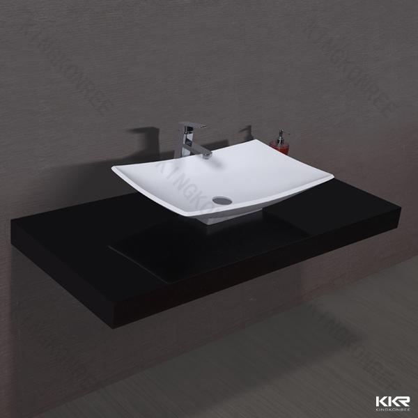 Salle de bains lavabo ovale noir lavabo sur colonne for Prix lavabo salle de bain