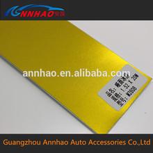 Annhao PVC 1.52 * 20 m buena duración mate de cromo para coches