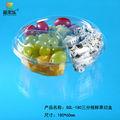 Descartável blister de plástico transparente saladeira tigela