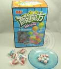 Fancy Rubik's Cube Shape Mix Fruit Super Sour Gummy Fudge/Soft Candy