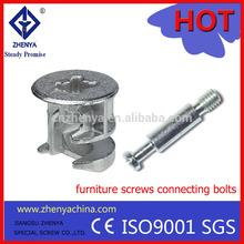 furniture connecting screws/a2/a4/HDG/black oxide/design nail concrete