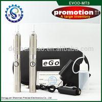 Hot sale evod vaporizer pen & evod mt3 atomizer evod vv battery evod starter kit & evod