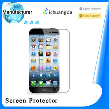 manufacturer perfect fit screen guard for iphone 6 plus tempered glass screen protector mobile accessory accept Paypal