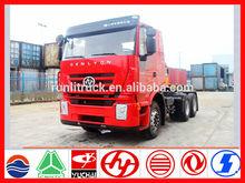 Chine iveco genlyon heavy duty truck fournisseur pour nouveau modèle iveco camion tracteur 6 * 4 430hp vente en eau