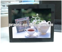 14 inch bus, shop,market advertising play digital photo frame with media player