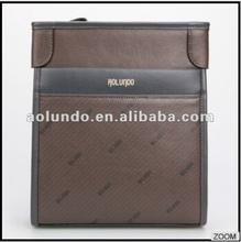 Big brand design good quality leather handbags men