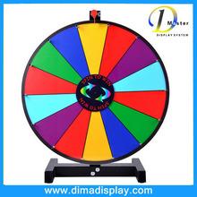 spinning prize wheel custom