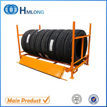 Storage metal durable wall tire display