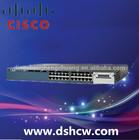 Cisco Network hardware 3560X WS-C3560X-24P-S 24 port fiber switch