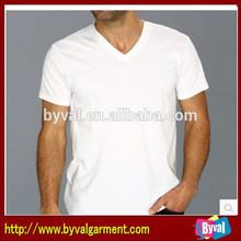 Men's Short-Sleeve V-Neck Tri Blend T-shirt For Wholsale Made In China