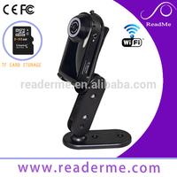 The newest super mini 720P HD security wifi camera mic spy