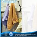 Atacado bordados 100% poliéster toalha bordado de letras