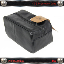 cosmetic faux leather pu man toilet bag