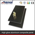 Alusign interior and exterior unbroken core aluminum composite bond