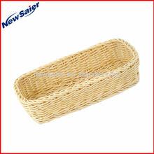 Handmade Poly Rattan Bread Basket