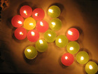 Christmas 3-8 hours scented color tealight candle and white tealight candle ---HUAMING manufacturer