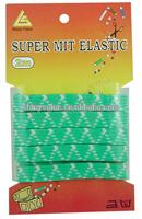 2.5cm wide different color custom jacquard elastic for underwear