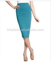 Women overhip pencil skirt midi skirt 2014