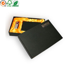 High Quality Customized lid and base purse box with satin mould
