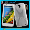 X Line pattern phone skin for Moto G2 XT1063 gel case