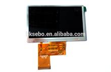 4.3inch lcd Panel 200nits 480*272 resolution /TFT Lcd monitor YXD043TN01-40NM01