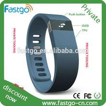 2014 trendy waterproof gps silicone bracelet watch/smart bracelet tracker in watch style