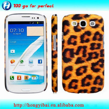 Customized full printing mobile phone cover for samsung s3
