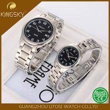 Japan Quartz pair watches lover 3ATM water resistant wrist couple watches
