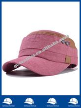 Mixed colors rivet flat cap wholesale men and ladies casual outdoor cap indian army cap badge
