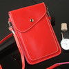 PU Leather Fashion shoulder strap leather phone bag