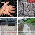 2014 venta caliente hexagonal gaviones de malla galvanizada, caja de gaviones( profesional iso 9001 de fábrica)
