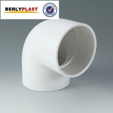 Sch-40 Water Supply Pipe Seamless Elbow Plastic Corner Connector