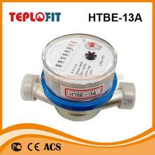 2014 caliente de la venta de agua totalizador de flujo medidor