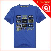 Wholesale Custom Men Polyester Spandex T Shirt