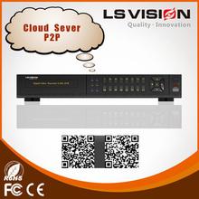 LS VISION hd-sdi dvr recorder 4ch dvr camera 4 channel h.264 network security cctv dvr