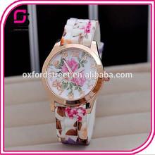 2014 Yiwu Supplier Women Flower Quartz Vogue Watch Wholesale