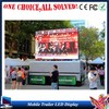 led mobile trailer advertising china video led dot matrix outdoor display