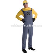Wholesale despicable me minion mascot costume for adults Fancy Dress Costume QAMC-2112