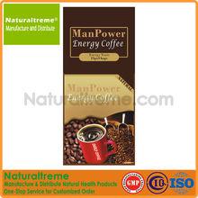 New Enhanced Natural Energy Coffee for Men
