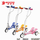 [NEW JS-008H] Hot-selling Dual-pedal used kids 3 wheel scooters china