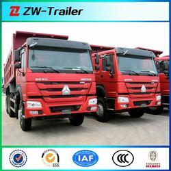 SINOTRUK HOWO 6x4 rear dump truck with Euro II CURSOR engine for sale