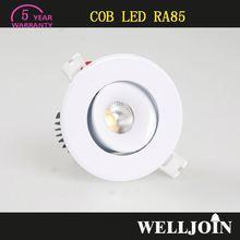 TOP SELLING!! Professional Adjustable 7W LED COB 21w retrofit led recessed downlight