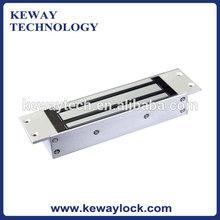 1200 lbs Hidden Single Door Electromagnetic Lock EM Lock with Signal Output