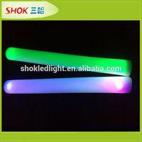 Halloween led glowing up-light flashing wholesale light up led flashing foam stick
