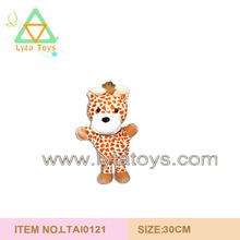 Customised Very Cute 25cm Plush Animal Toys Stuffed Deer